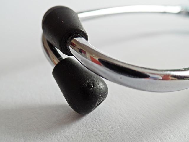 lékařský stetoskop