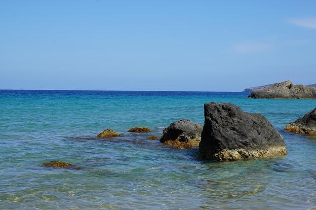 moře u Ibizy