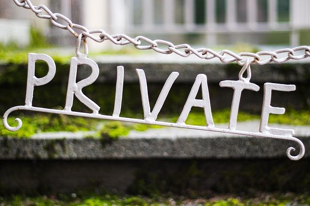 označení soukromí