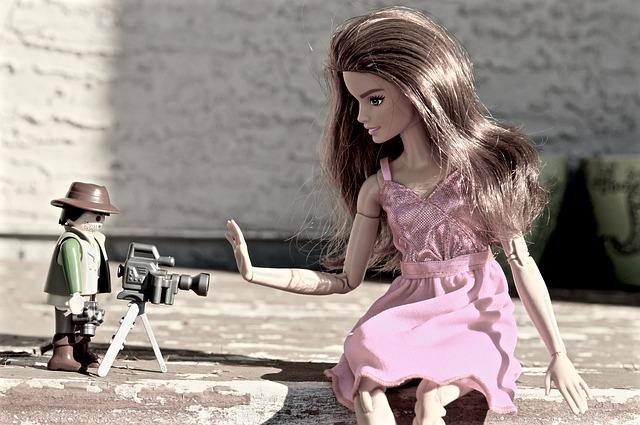 barbie a paparazzi