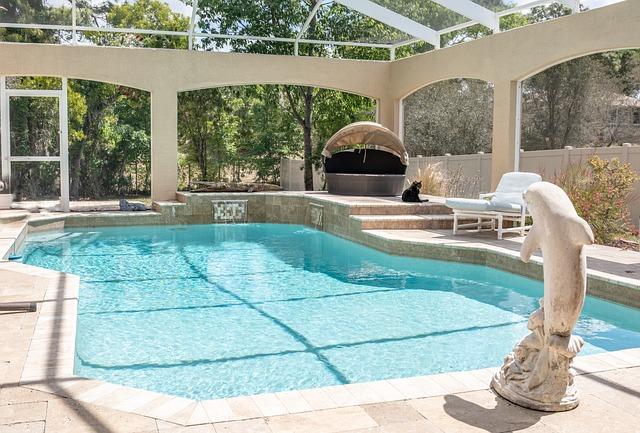 bazén venkovní